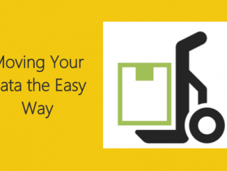 Move You Data The Easy Way