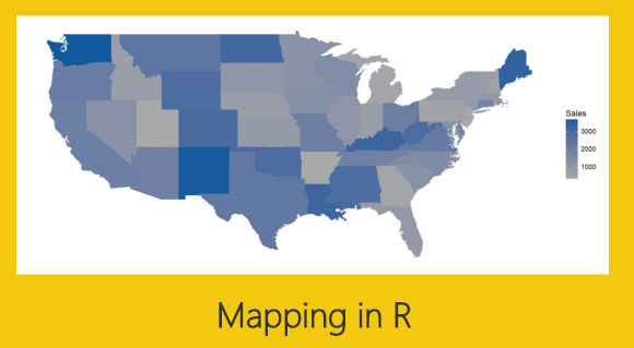 Map with Data Labels in R - Power BI Tips and Tricks