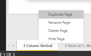 Duplicate a Page