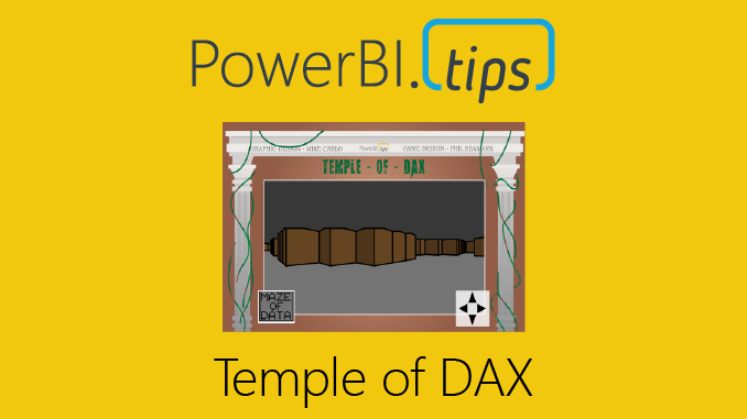 Temple of DAX - 3D - Power BI Tips and Tricks